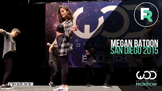 Download Megan Batoon | FRONTROW | World of Dance San Diego 2015 | #WODSD15 Video