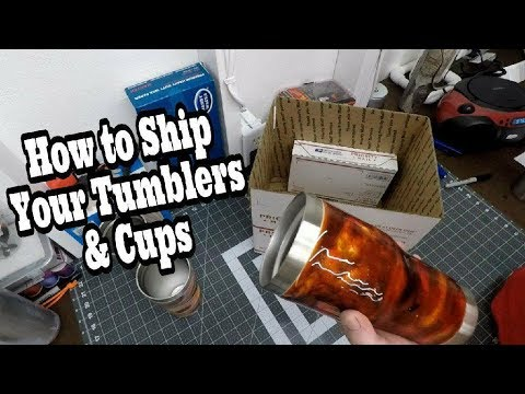 Epoxy Tubmbler & Cups How To Ship