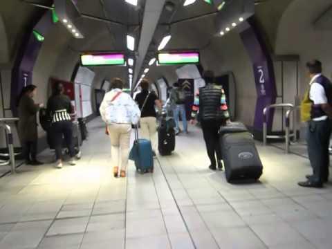 Traipsing around Heathrow Terminal 2 off the Heathrow Express