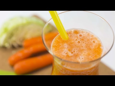 How to Make Cabbage and Carrot Juice to Control Anxiety