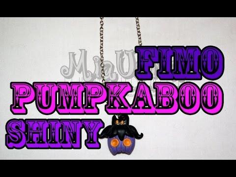 【Fimo Tutorial】Pumpkaboo shiny (Pokemon XY)