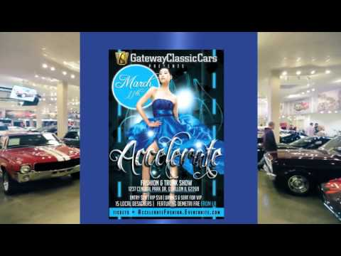 Accelerate Fashion and Trunk Show at Gateway Classic Cars STL