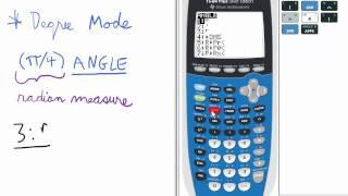 Convert Radians To Degrees Ti 84 Calculator