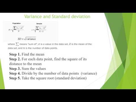 Measures of Variability with R Programming Language (range, variance, standard deviation)
