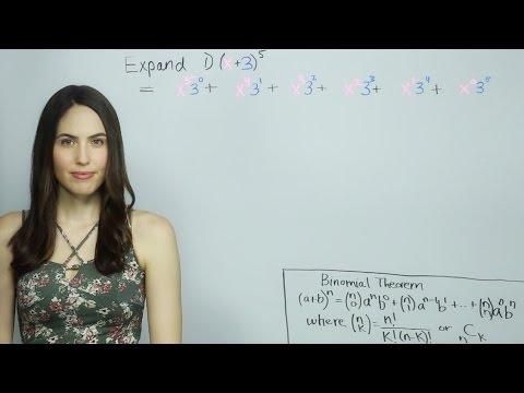 How to Use the Binomial Theorem (NancyPi)