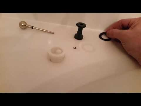 Fixing a leaky tub faucet/shower diverter