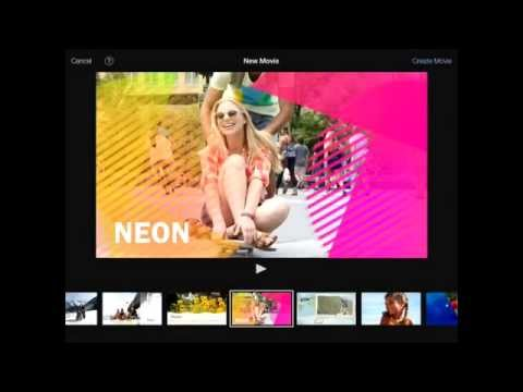 How to put titles in iMovie for iPad