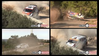 WRC Rally Catalunya Spain 2017 [HD] - Crash & Mistakes - RallyeChrono