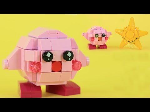 How to Build LEGO Kirby | Custom Nintendo LEGO Build