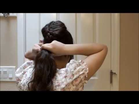 Slave Leia hair tutorial