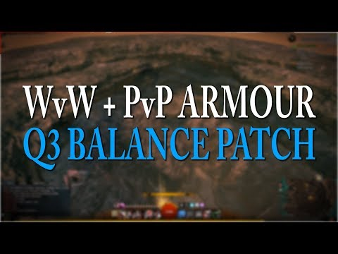 GW2 Q3 Balance Patch - Legendary armour in WvW & PvP!