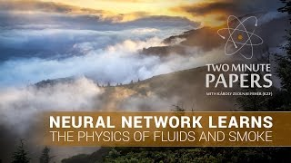 Neural Network Learns The Physics of Fluids and Smoke | Two Minute Papers #118