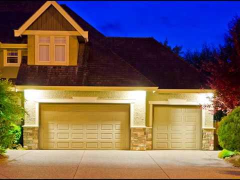 Wooden Garage Doors and Frame Design