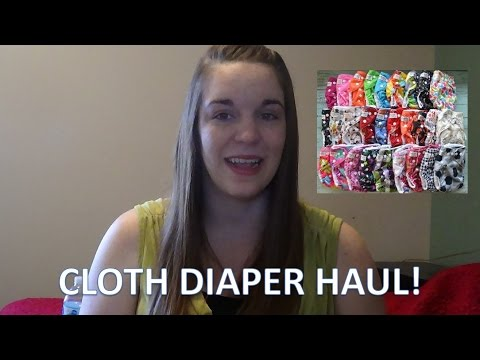 Cloth Diaper Haul! [Sunbaby]