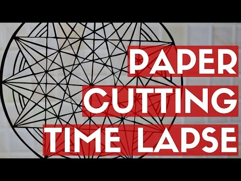 PAPER CUTTING TIME LAPSE