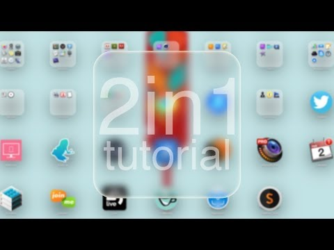 How To Change Folder background Icon Tutorial