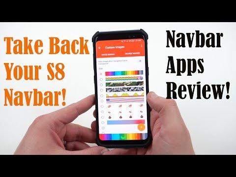 Galaxy S8 NavBar Problems: Customize Completely with Navbar Apps!