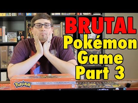 The BRUTAL Pokemon Board Game - Master Trainer Part 3