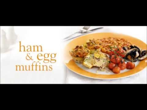 Ham And Egg Muffins