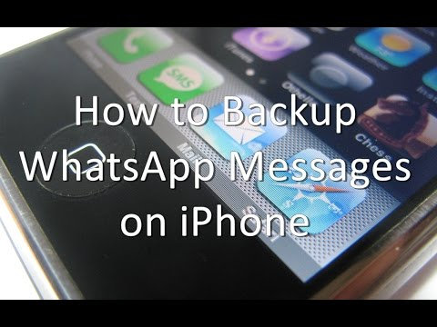 How to Backup WhatsApp Messages on iPhone and iPad