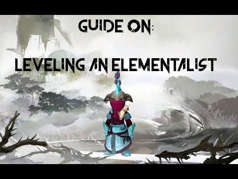 Leveling an Elementalist