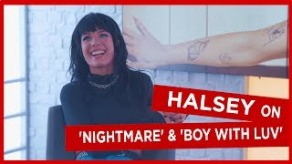 Download 'It's always J-Hope!': Halsey on which BTS member makes fun of her the most and new song 'Nightmare' Video