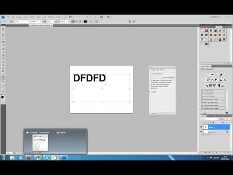 Photoshop font size problem tutorial