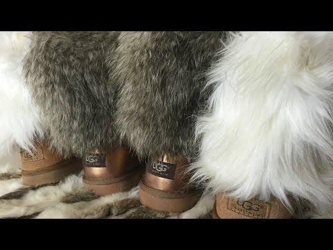 DIY Fur Uggs ♥
