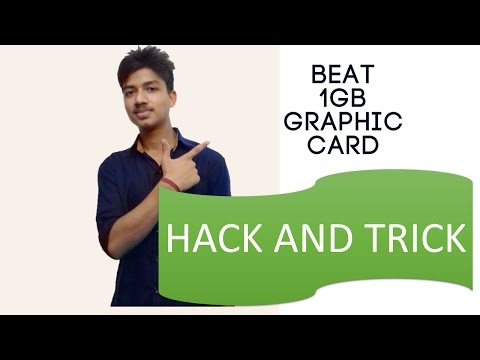 ✔Play games on virtual graphic Card|Know how?