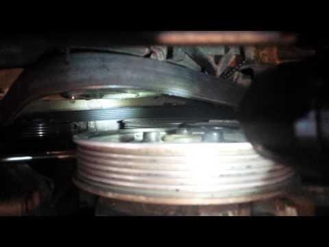 Replacing Serpentine/Accessory Belt Audi A4 3.0
