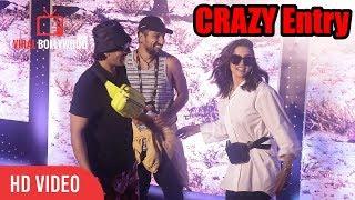 Ranveer Singh And Deepika Padukone CRAZY Entry at U2 India Show   Viralbollywood