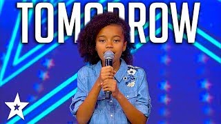 Sweet Little Girl Sings Annie Musical Tomorrow on Israel's Got Talent 2018
