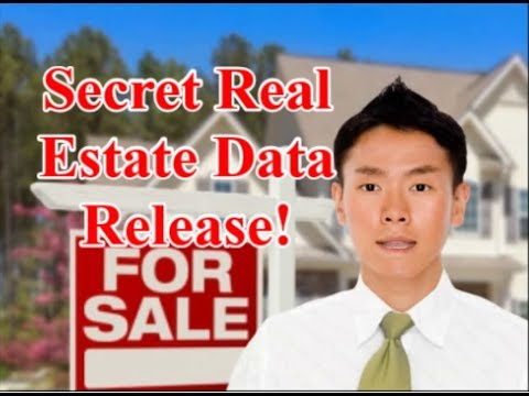 Secret Real Estate Data Release: How to get Sold Price and Asking Prices?