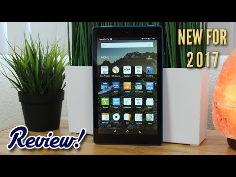 Amazon Fire HD 8 with Alexa (2017 Model) - Complete Review!