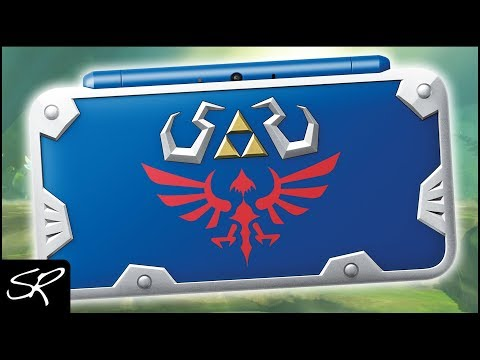 New Nintendo 2DS XL Hylian Shield Edition | New 2DS XL COMING!