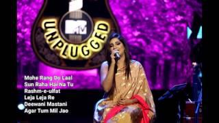 MTV Unplugged Season 6 Shreya Ghoshal