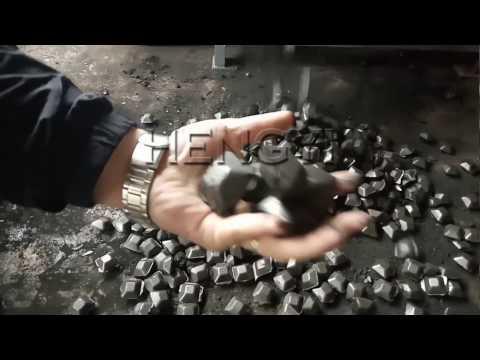 Charcoal/Coal/carbon powder/dust ball briquette making machine