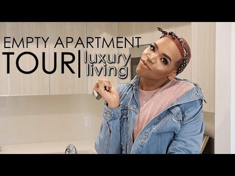 My Empty Apartment Tour!!