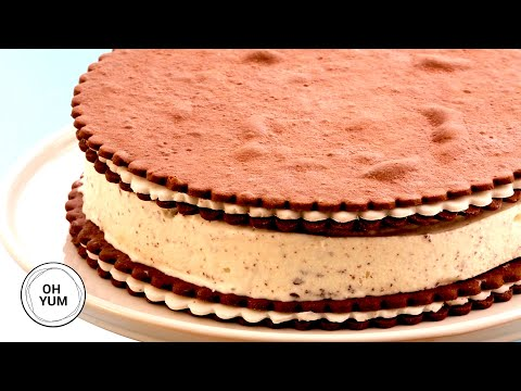 Cookies and Cream Ice Cream Cake | Oh Yum with Anna Olson