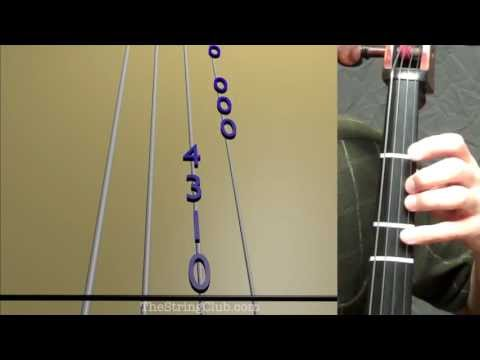 Learn Lightly Row on Cello - How to Play Tutorial