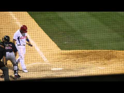 Cuba National Baseball - #25 batting against USA Collegiate National Team