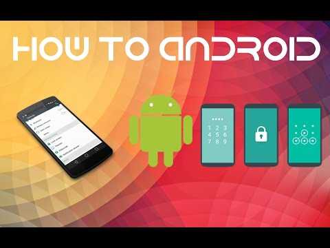 How-To Android: How To Change Your Password Type!