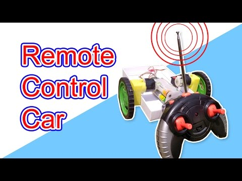 Wire less remote control car | How to make