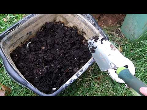 Around the Home: #22 Garden Barrel Compost Tube Update