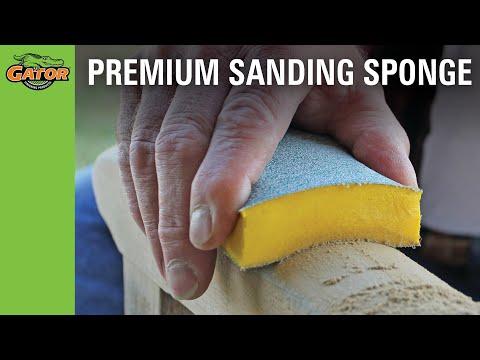 Finishing Made Easy - CeraMax™ Sanding Sponge