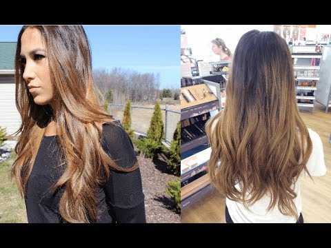 How to | Balayage Ombre Highlights at home | Alexandrea Garza