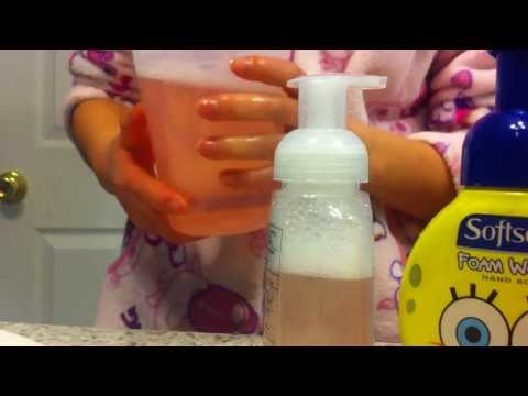 DIY How To Make Your Own Foaming Hand Soap (The Easy Way To Save the MONEY)