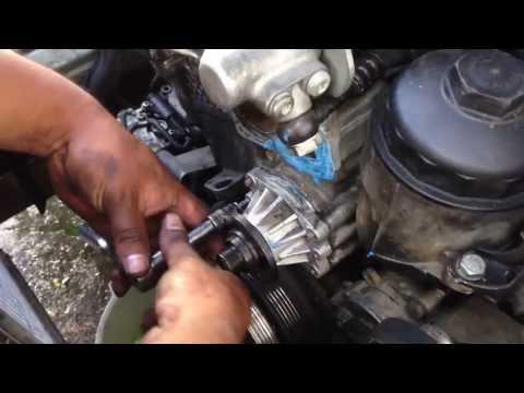 HOW TO Remove Waterpump  BMW 5 Series 3 Series E90 E39 528I 328I M5 M3