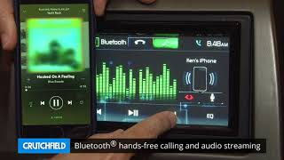 Jensen VX4024 Display and Controls Demo   Crutchfield Video