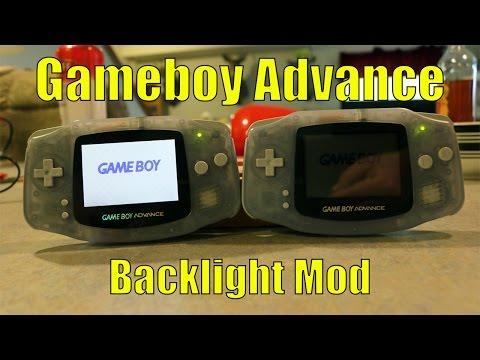 Gameboy Advance Backlight Screen Mod!